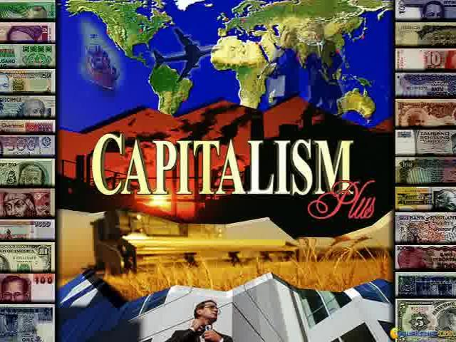 Capitalism Plus - game cover