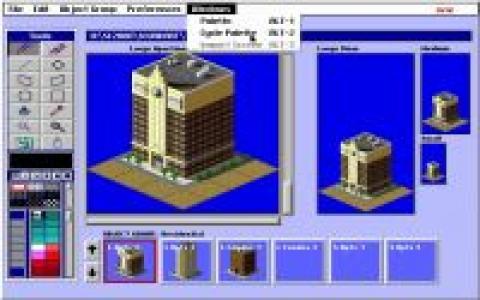 SimCity 2000 Urban Renewal Kit - game cover