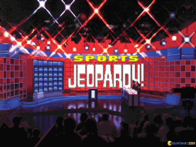 Jeopardy! New Sports Edition - game cover