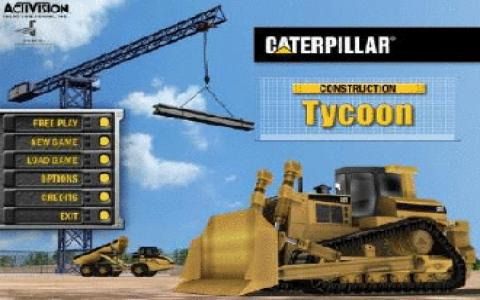 Caterpillar Construction Tycoon - game cover