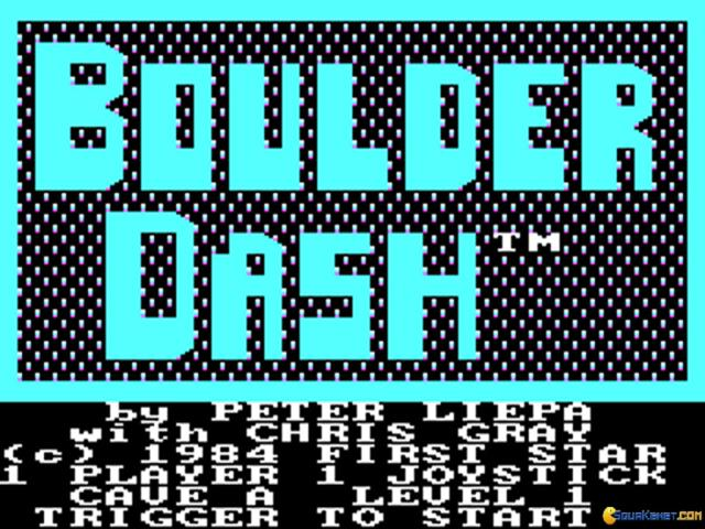 Super Boulder Dash - title cover