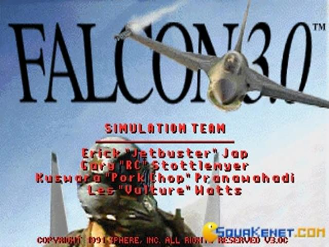 Falcon 3.0 - game cover