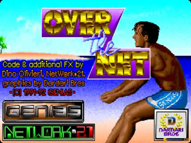 Over the Net - title cover