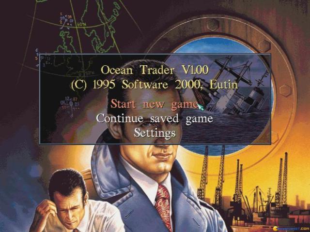 Ocean Trader - game cover