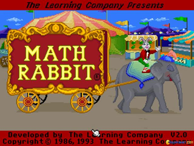 Math Rabbit - title cover