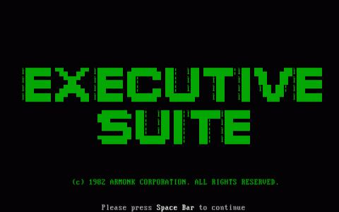 Executive Suite - title cover