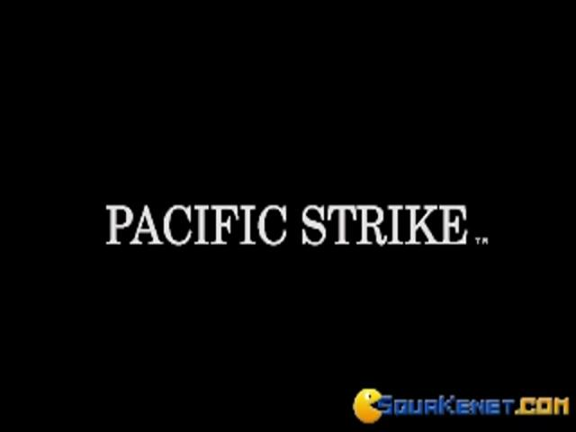 Pacific Strike - title cover
