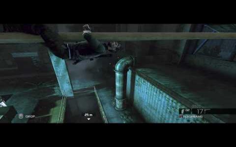 Splinter Cell Conviction - title cover