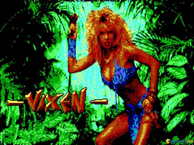 Vixen - title cover