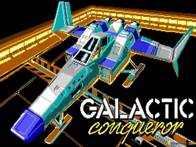 Galactic Conqueror - title cover