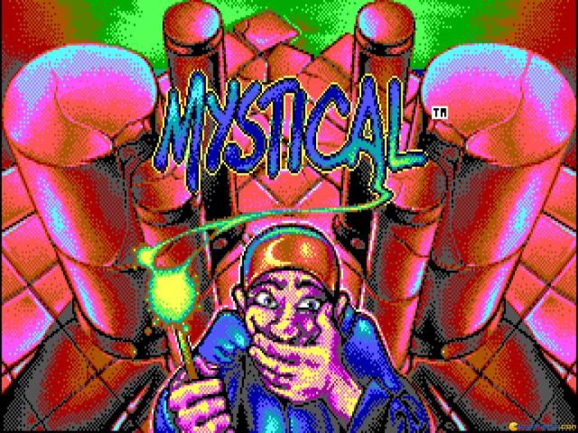 Mystical - title cover