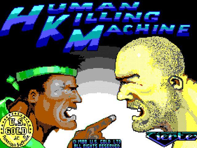 Human Killing Machine - title cover