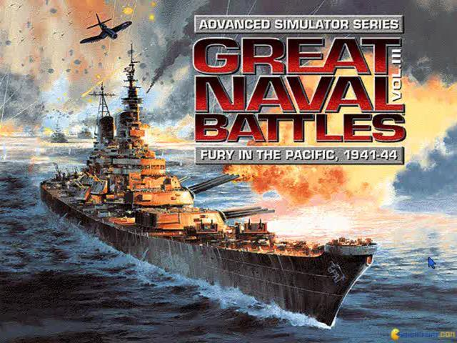 Great Naval Battles 3 - title cover