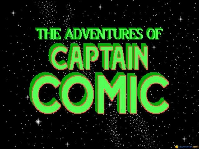 Adventures of Captain Comic 2 - title cover