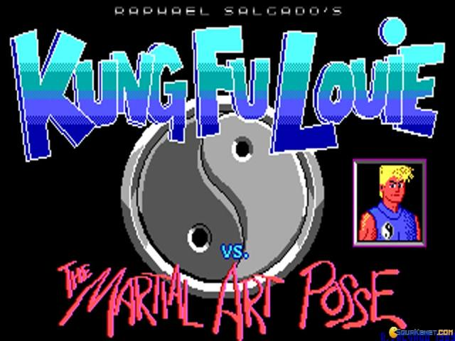 Kung Fu Louie Vs. The Martial Art Posse - title cover