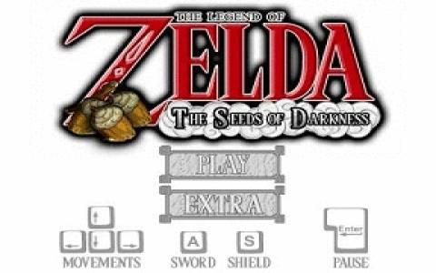 The Legend of Zelda: Seeds of Darkness - title cover