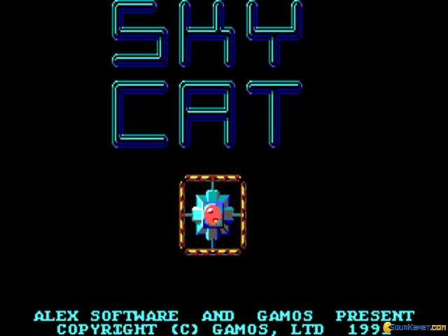 Sky Cat - title cover