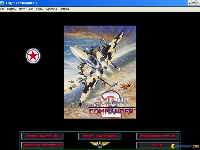 Flight Commander 2 - title cover