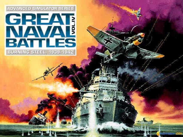 Great Naval Battles 4 - game cover