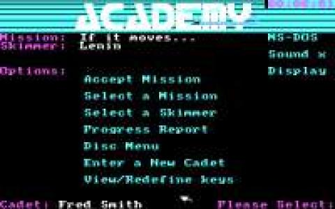 Space School Simulator: The Academy - title cover