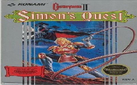 Castlevania 2: Simon's Quest - title cover