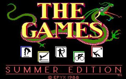 Games: Summer edition - title cover