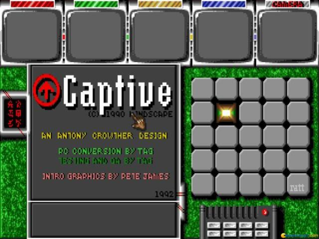 Captive - game cover
