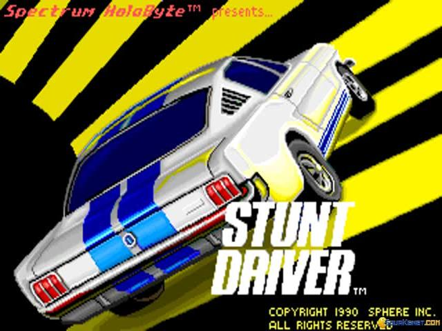 Stunt Driver - game cover