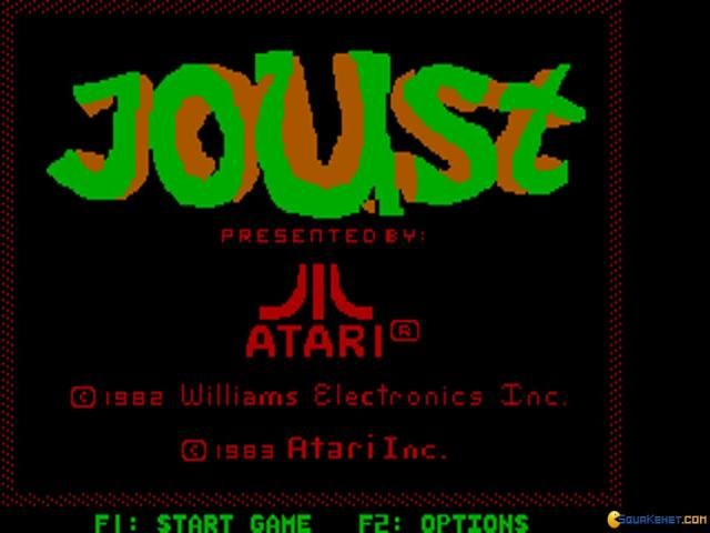 Joust - title cover