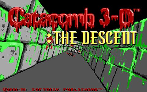 Catacomb 3D: The Descent - title cover