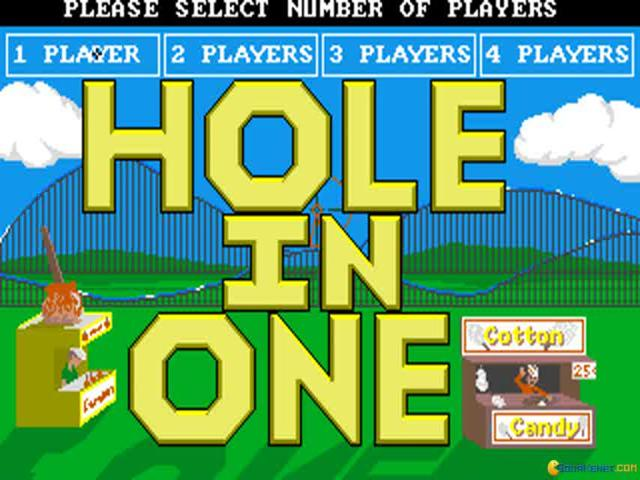 Hole in One Miniature Golf - title cover