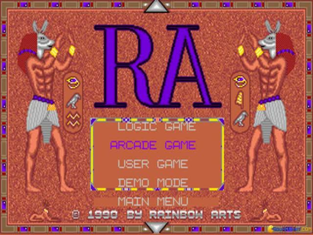 The Curse of RA - title cover