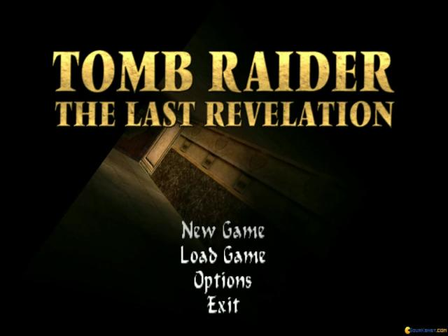 Tomb Raider IV: The Last Revelation - title cover