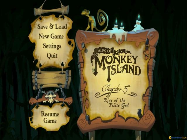 Tales of Monkey Island: Chapter 5 - title cover