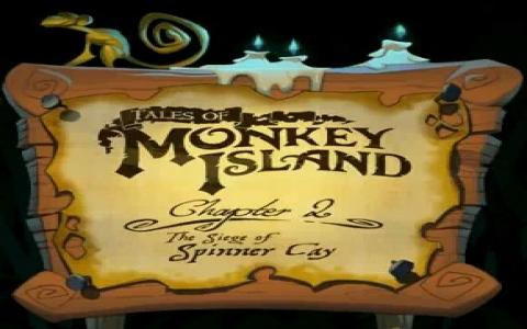 Tales of Monkey Island: Chapter 2 - title cover