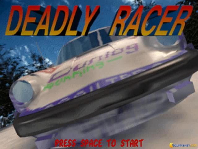 Deadly Racer - title cover