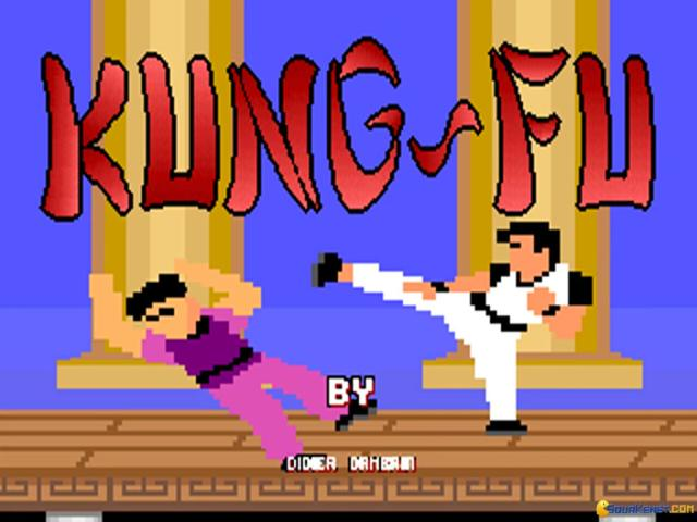 Kung-Fu Master - title cover
