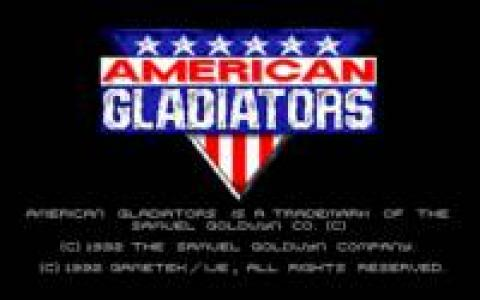 American Gladiators - title cover