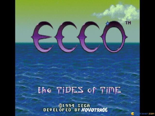 Ecco: The Tides of Time - title cover