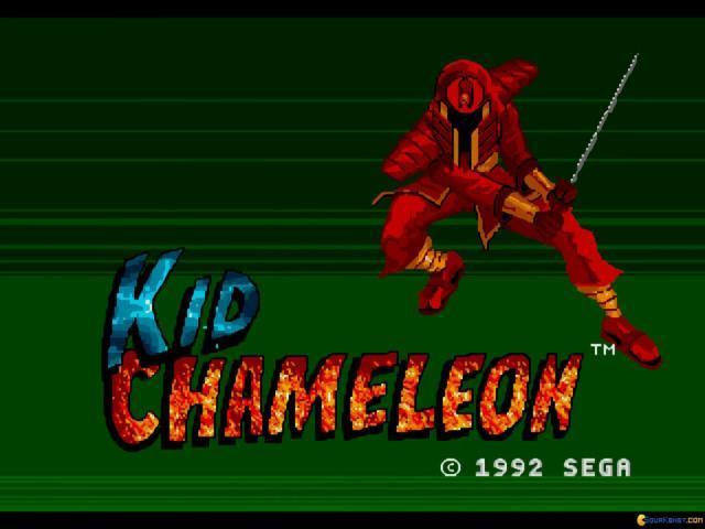 Kid Chameleon - title cover