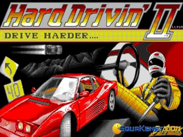 Hard Drivin' 2 - title cover