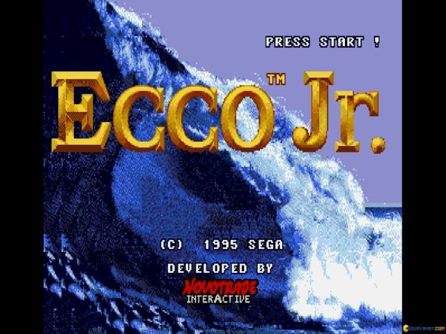 Ecco Jr. - game cover