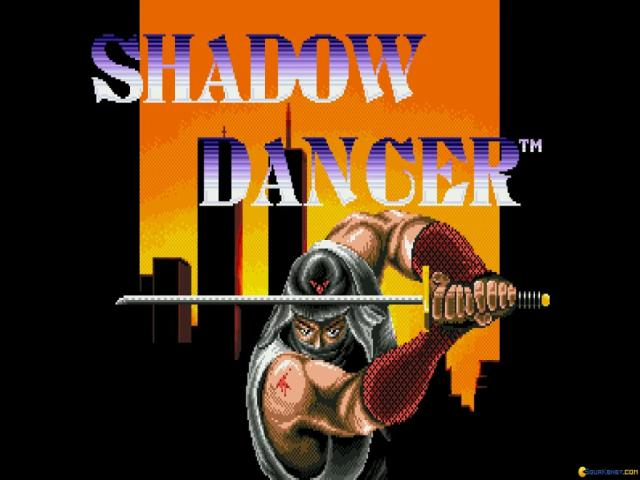 Shadow Dancer - game cover