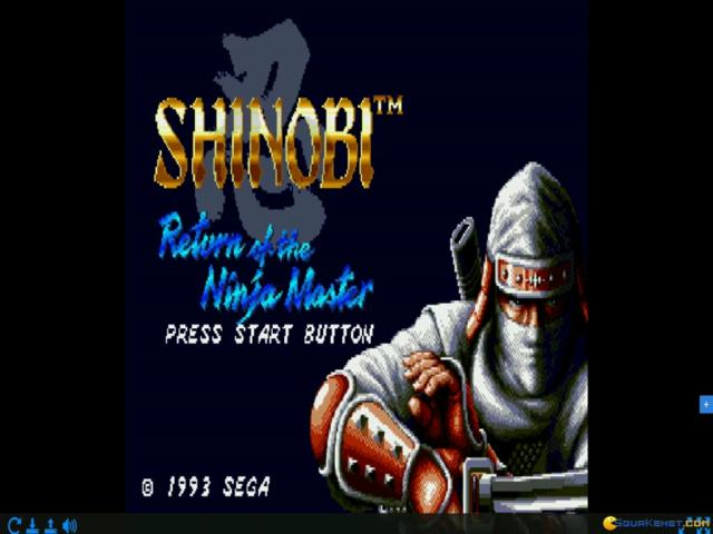 Shinobi III: Return of the Ninja Master - title cover