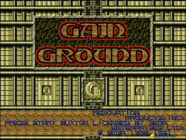 Gain Ground - game cover