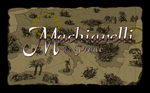 Machiavelli the Prince - game cover