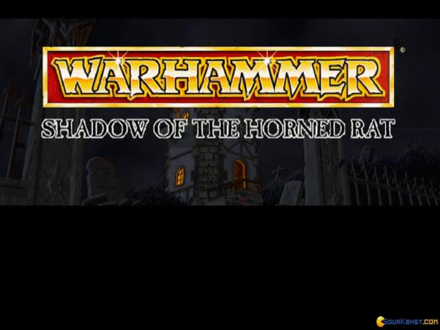 Warhammer: Shadow of the Horned Rat - title cover