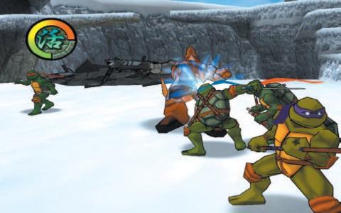 Teenage Mutant Ninja Turtles 2: Battle Nexus - title cover