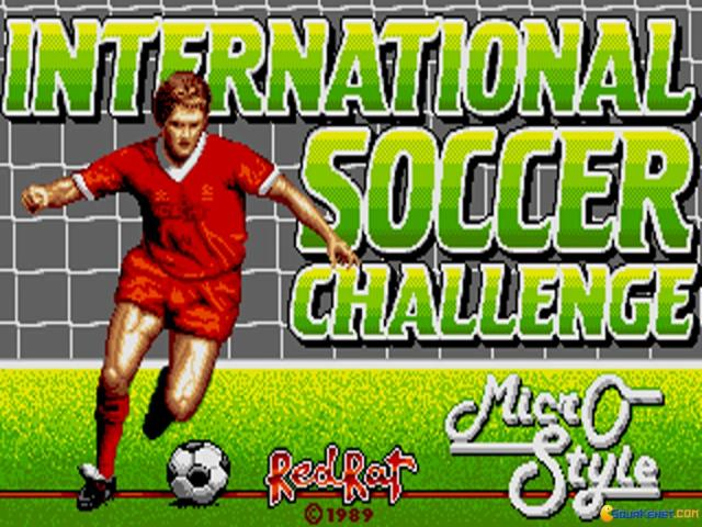 International Soccer Challenge - title cover