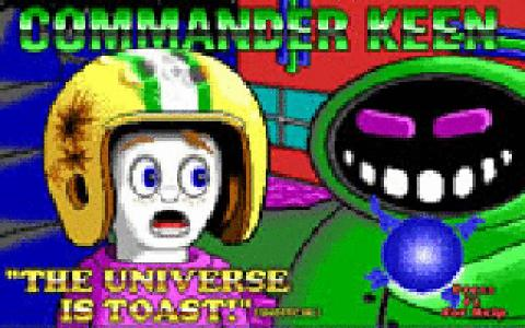 Commander Keen 7: The Keys Of Krodacia - title cover